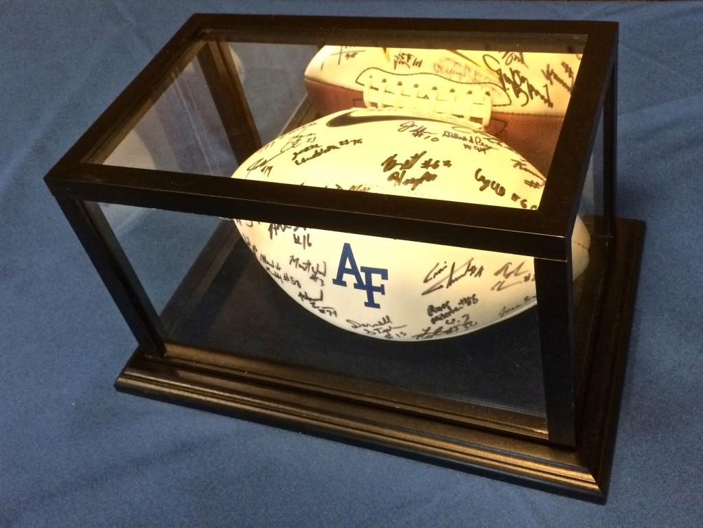 Autographed football-medium